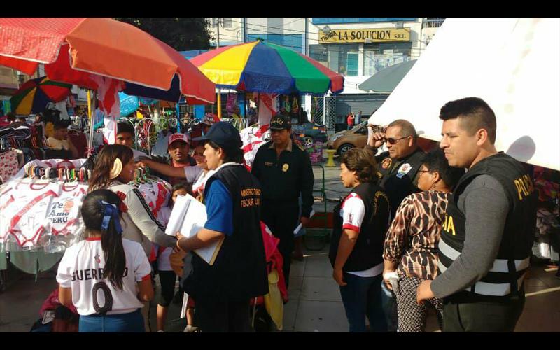 Chimbote- fiscalía rescata de la calle a 16 niños y adolescentes trabajadores