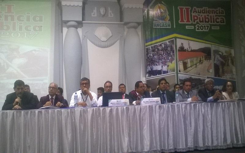 Audiencia pública Luis Gamarra