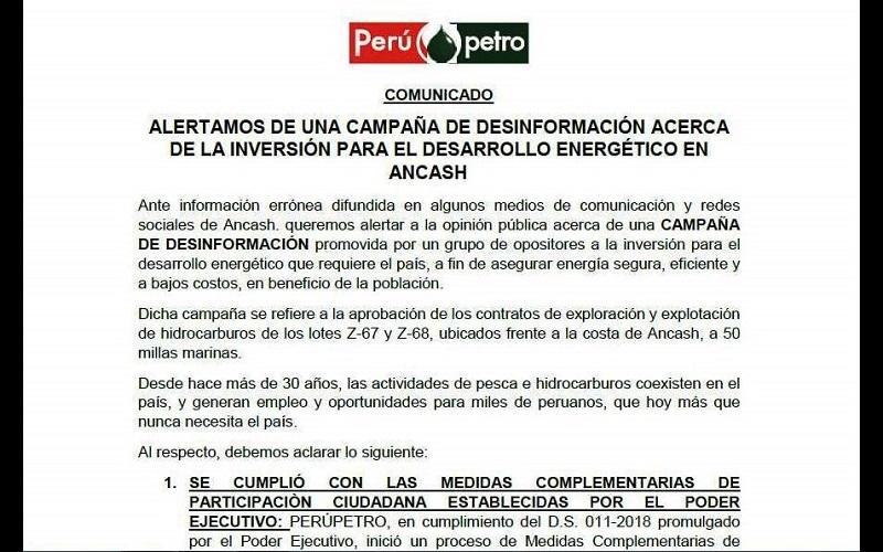 comunicado_perupetro_ancash_petroleo