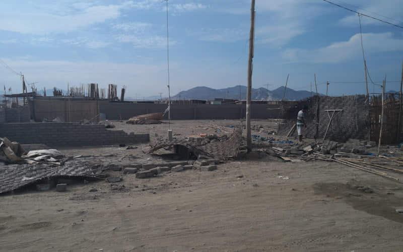 Nuevo Chimbote: moradores de Villa Atahualpa desalojan