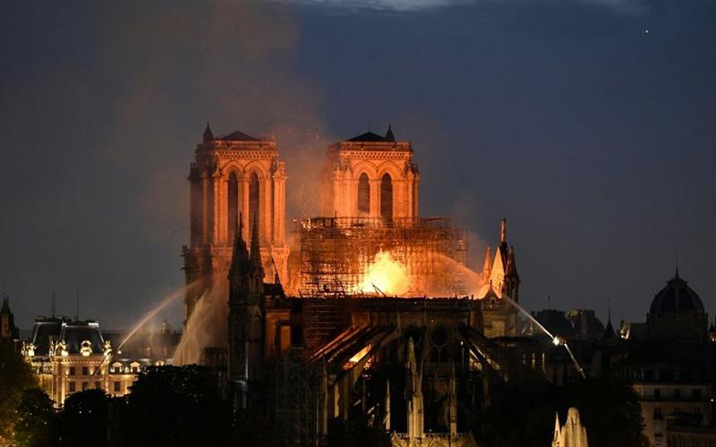 Incendio de la Catedral