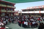 Simulacro sismo Augusto Salazar Bondy