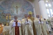 Ceremonia de ordenación de sacerdotes