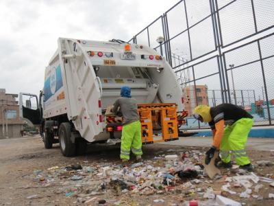 Nuevo Chimbote recojo de basura