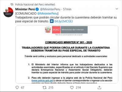 comunicado_mininter