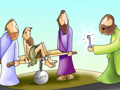 Toma tu camilla y anda, evangelio, curación en sábado