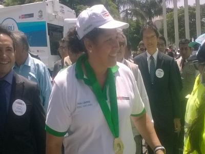 Ministra del Ambiente Fabiola Muñoz