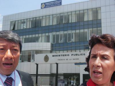 Prófugo por desfalco hace graves acusaciones contra fiscales Nancy Moreno y Felipe Elías