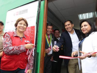 inauguran CEM Comisaría