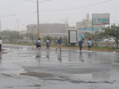 Inundación Nuevo Chimbote