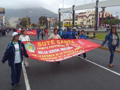 Huelga de profesores